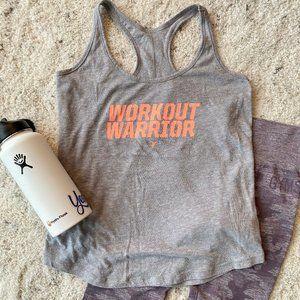 Workout Warrior Graphic Tank